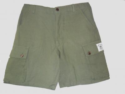 Green Hemp short Trouser