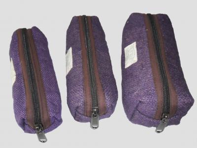 Violet Hemp Pencil Case