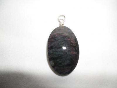Colgante de Obsidiana Rosa