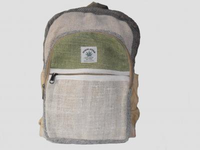 City Backpack of Hemp and Cotton
