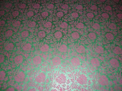 Lokta Papier mit lila Lotus-Zeichnungen