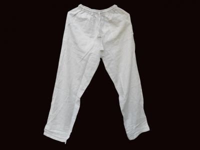 Leichte Hose aus Hanf und Baumwolle