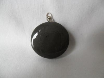 Gray Obsidian Pendant