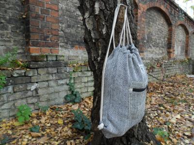 Morral Drawstring Bag Blue