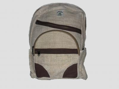 City Backpack of Hemp