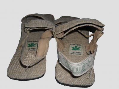 Sandalias de cáñamo Natural