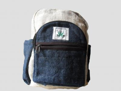 Blue Children's Hemp Backpack