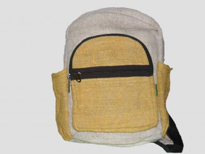 Yellow Children's Hemp Backpack
