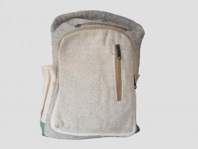 City backpack in Hemp and Natural Cotton