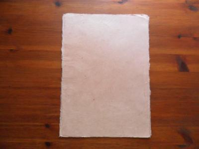 Deckle Edge Lokta paper 0.176 Ounces (A4)
