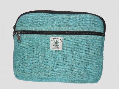 Funda  para Tablet de cáñamo Verde