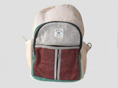Hemp and Cotton City Backpack Color